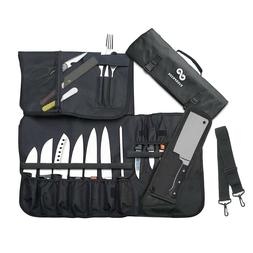 EVERPRIDE 10 Pocket Knife Roll - Knife Bag for Chefs and Coo