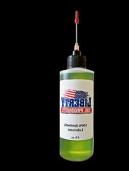 100 percent synthetic oil for lubricating