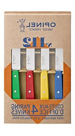 Opinel 112 Assorted Classic Colors Kitchen Paring Knives , B