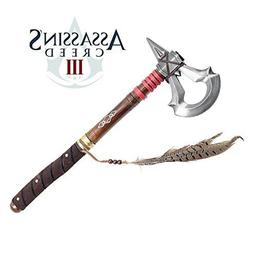 "17.5"" Battle Axe of Assassin's Creed 3 Video Game Tomahawk C"