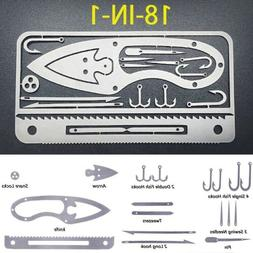 18-1 Survival Outdoor Multi Functional Fishing Tool Knife