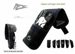 2 POCKETS GERBER KNIFE & MULTITOOL POUCH / SHEATH FIT FOR MP