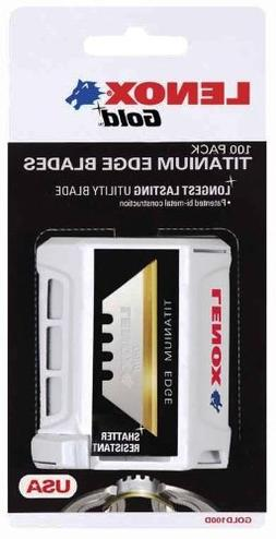 Lenox 20352-Gold Power Arc Curved100D Utility Knife Blades -