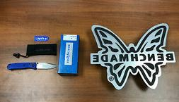 "Benchmade 535 Bugout AXIS Folding Knife 3.24"" S30V Satin Pla"