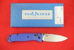 BENCHMADE 535 BUGOUT CPM-S30V AXIS LOCK BLUE HANDLE KNIFE, N