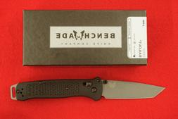 BENCHMADE 537GY BAILOUT CPM-3V AXIS LOCK TANTO BLADE KNIFE U