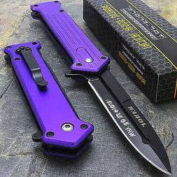 "7.5"" JOKER SPRING ASSISTED STILETTO TACTICAL FOLDING POCKET"