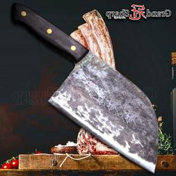 7Inch Traditional Chinese Cleaver Handmade Kitchen Knives Ch