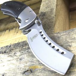 8 razor blade style wood spring assisted