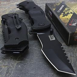 """9"""" MTECH USA TACTICAL TANTO LARGE SPRING OPEN ASSISTED FOLDI"""