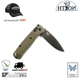 Benchmade 535GRY-1 Bugout Backpacking EDC Knife Green Handle