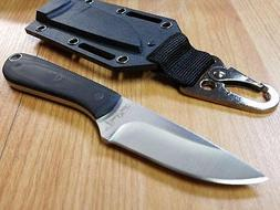 Benchmark Backpacker 420 Stainless Micarta Handle Fixed Blad