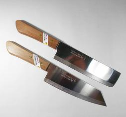 Chefs Kitchen Knife Cook Utility Knives Set 2 KIWI Cutlery S