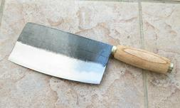 Crude - Chinese Cleaver Vegetable Chef Knife, 8 inch, Carbon