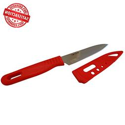 Paring Knife with Sheath is The Perfect Fruit Knife and An E