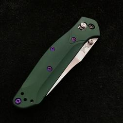 Purple Titanium   for Benchmade 940 Osborne  9 screws