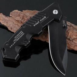 Tactical Folding Blade Knife Knives Stainless Steel Utility