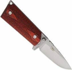 Ultimate Equipment CLR-440C Rosewood Drop Point Folding Knif