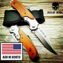 Assisted Blade Knives Pocket Tactical Folding Blade Knife Su