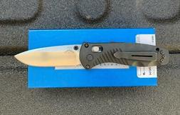 Benchmade Knives: 585 Mini Barrage - Plain Blade - AXIS Assi