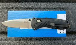 Benchmade Knives: 585S Mini Barrage - Serrated Blade - AXIS