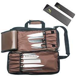Chef Knife Bag  | Premium Culinary Knife Case | Includes 2 K