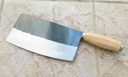 Crude - Chinese Cleaver Vegetable Chef Knife, 7 inch, Carbon