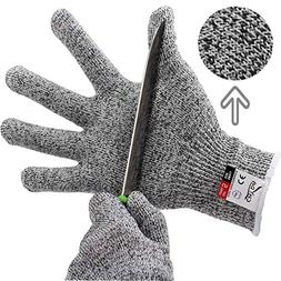 Cut Resistant Gloves High Performance Level 5 Protection Foo