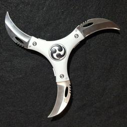 cyclone 3 blade throwing knife by designed