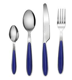 Exzact EX07 - 16 pcs Flatware Cutlery Set - Stainless Steel