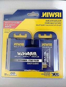 IRWIN 100-Pack Bi-Metal Blue Utility Knife Blades