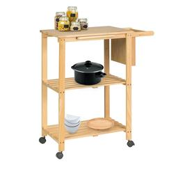 BuyHive Kitchen Trolley Cart Utility Dining Serving Shelf St