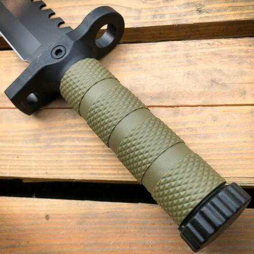 """12.5"""" TACTICAL Hunting BLADE Army Knife"""