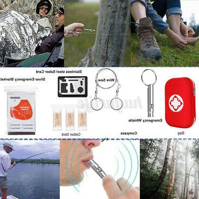 261PC Survival Kit Outdoor Tool