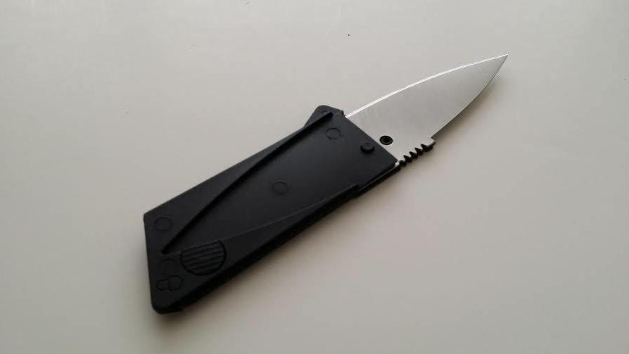 4 Credit Card Knives folding wallet micro knife