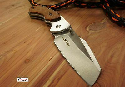 """8"""" WARTECH Assisted Open Knife CLEAVER"""