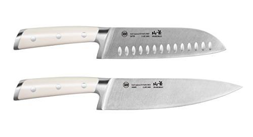 Cangshan S1 Series 59687 German Steel Forged Chef and Santok