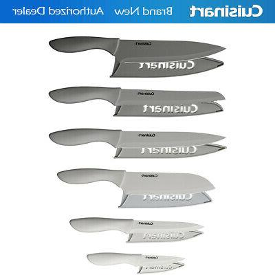 Cuisinart 12-Piece Gray Knife Set