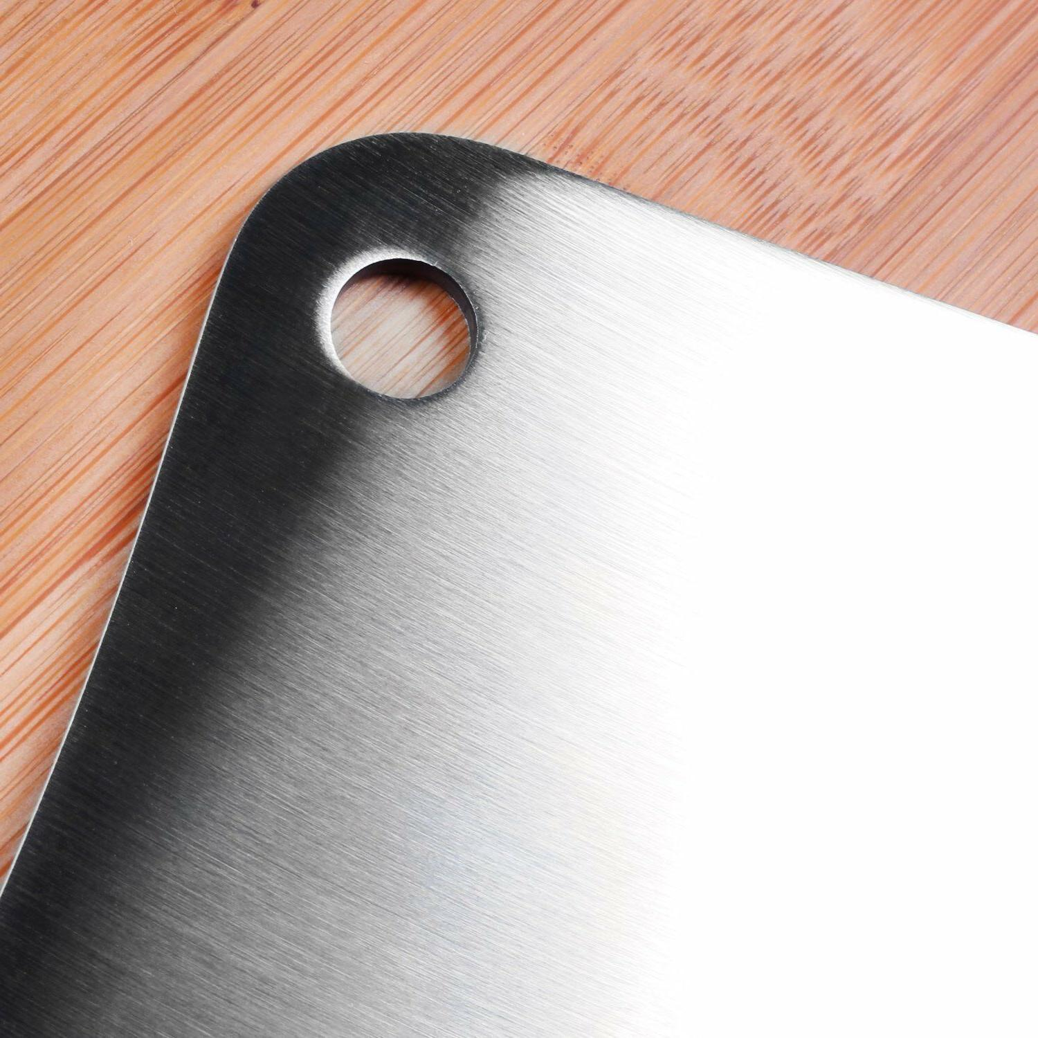 "Cleaver Stainless Steel Butcher 7"" Home"