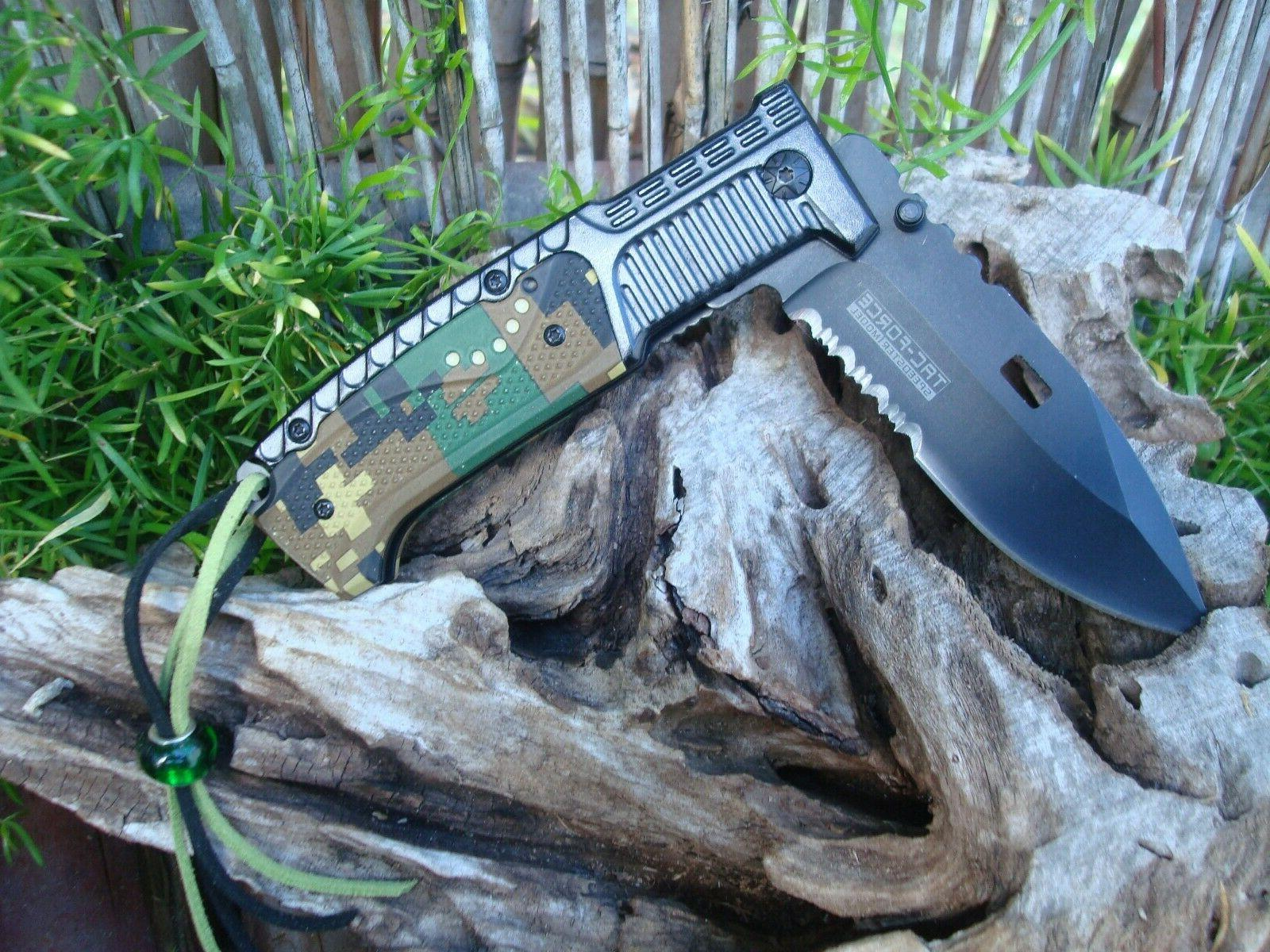 Collectible Knife, Finish Fine-Serrated Knife 928