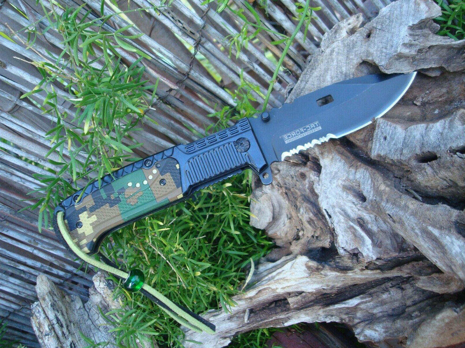 Collectible Fine-Serrated Edge Knife