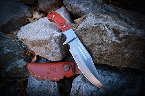 Elk Fixed Blade Hunting Edge 9-1/2-Inch Overall