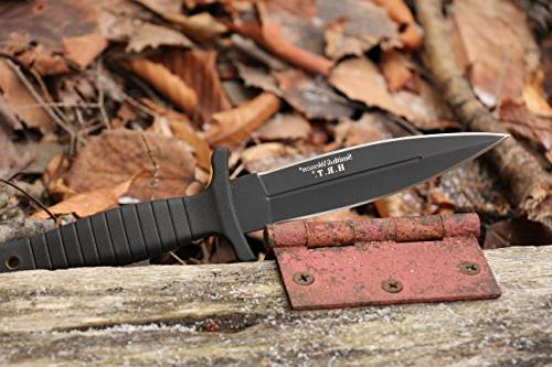 Smith & SWHRT9B 9in Blade Knife with Dagger Point Blade TPE Tactical Carry