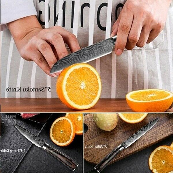 kitchen knives pattern chef Cleaver