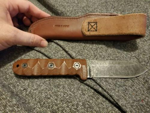 ESEE Knives PR4 and Leather Sheath