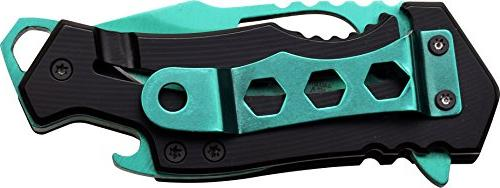 MTech USA Spring Assist Blade, Handle, 3-Inch Closed