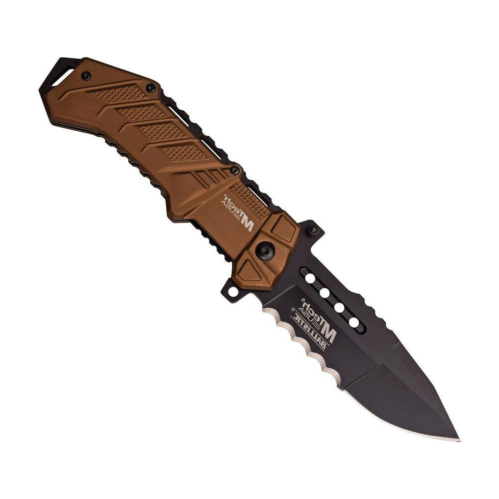 mtech linerlock a o black knife mt