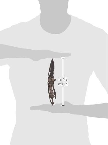 TAC Tactical Spring Knife Closed