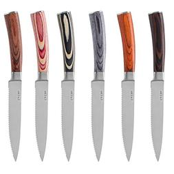 La Cote 6 Piece Steak Knives Set Japanese Stainless Steel Pa