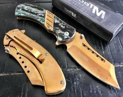 "M-Tech USA 8.35"" Spring Open Assisted Tactical Pocket Knife"